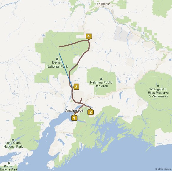 4 Day Wonder of Alaska Tour