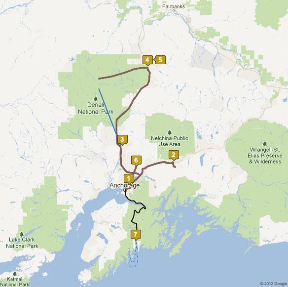 7 Day Pride of Alaska Tour