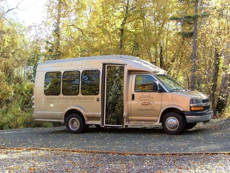 Tour Alaska in AAU's Executive Mini-Coach