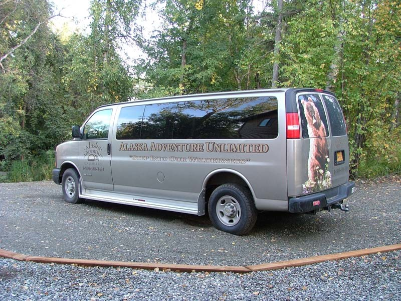Tour Alaska in AAU's Family Van