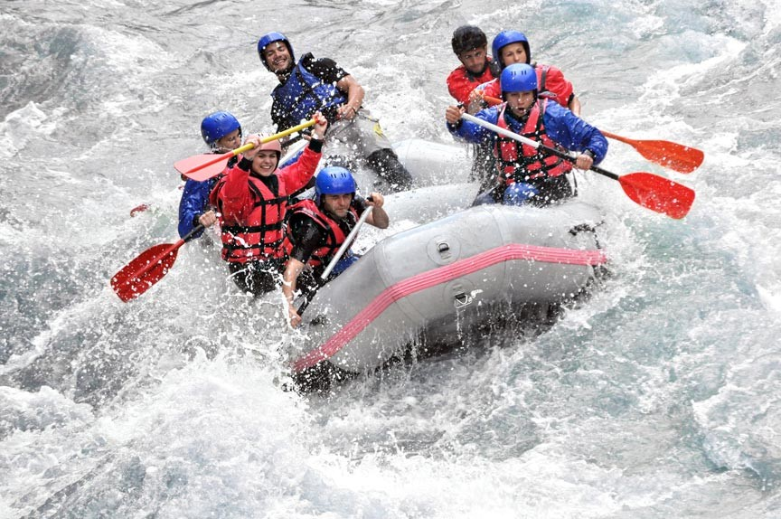 Go With The Flow - Alaska Whitewater Rafting!