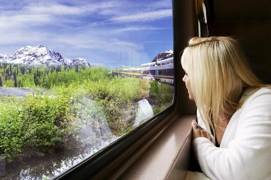 Enjoy a Coastal Alaska Train Trip